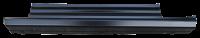 Rocker Panels - Chevy - Key Parts - 14-18 Chevy Silverado/GMC Sierra Standard Cab Slip on Rocker Panel W/ Sills LH Drivers