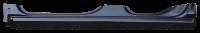 Rocker Panels - Chevy - Key Parts - 14-18 Chevy Silverado/GMC Sierra Extended Cab OE Style Slip on Rocker Panel W/ Sills LH Drivers