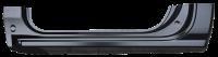 Rocker Panels - Chevy - Key Parts - 14-18 Chevy Silverado/GMC Sierra Standard Cab OE Style Rocker Panel W/ Sills LH Drivers