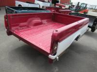 80-96 Ford F-150/F-250/F-350 Truck Beds - 8ft Long & Dually Bed - Used 87-96 Ford F-150/F-250/F-350 Burgundy/White 8ft Dual Tank Truck Bed
