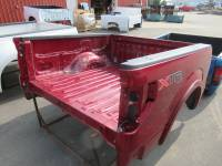 09-14 Ford F-150 Truck Beds - 5.5ft Short Bed - Used 09-14 Ford F-150 Red 5.5ft Short Truck Bed