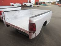 09-18 Dodge Ram Truck Beds - 8ft Long Bed - Used 09-18 Dodge Ram White 8ft Long Bed