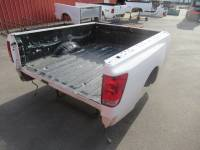 Used 08-12 Nissan Titan King Cab White 6.5ft Short Bed