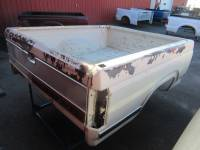 80-96 Ford F-150/F-250/F-350 Truck Beds - 6.5ft Short Bed - Used 87-96 Ford F-150/F-250/F-350 Single Tank 6.5ft White Short Bed
