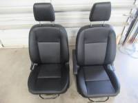 New and Used OEM Seats - Ford Replacement Seats - 2020 Ford Transit 150/250/350 Van Pair Black Leather Manual Bucket Seat