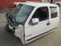 Truck Cabs & Cab Clips - Chevy/GM Truck Cabs and Cab Clips - 99-06 Chevy Silverado Extended Cab White Truck Cab