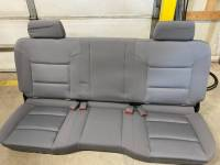 New and Used OEM Seats - Chevy/GMC Replacement Seats - 14-18 Chevy Silverado/GMC Sierra Double/Extended Cab 2nd Row Gray Cloth Bench Seat