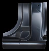 Cab Corner - Chevy - Key Parts - 96-20 Chevy Express/GMC Savanna Cutaway Van Lower B pillar Section LH Drivers side