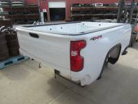 20-C Chevy Silverado HD - 8ft Long Bed - New 20-C Chevy Silverado HD White 8ft Long Truck Bed