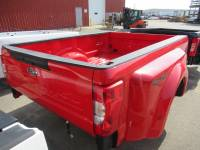 17-C Ford F-250/F-350 Super Duty Truck Beds - Dually Bed - New 17-C Ford F-250/F-350 Super Duty Race Red 8ft Long Dually Bed Truck Bed **2020 Tailgate and Lights**