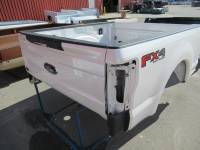 17-C Ford F-250/F-350 Super Duty Truck Beds - 6.9ft Short Bed - Used 17-C Ford F-250/F-350 Super Duty Pearl White 6.5ft Short Bed Truck Bed