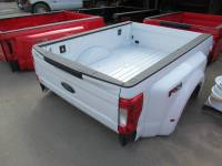 17-C Ford F-250/F-350 Super Duty Truck Beds - Dually Bed - New 17-C Ford F-250/F-350 Super Duty White 8ft Long Dually Bed Truck Bed
