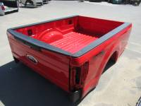 New 17-C Ford F-250/F-350 Super Duty Red 8ft Long Bed Truck Bed