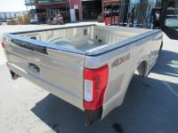 New 17-C Ford F-250/F-350 Super Duty White/Gold 8ft Long Bed Truck Bed