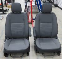 2020 Ford Transit 150/250/350 Van Pair Dark Gray Cloth Manual Bucket Seats