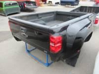 14-18 Chevy Silverado - Dually Bed - Used 15-18 Chevy Silverado/GMC Sierra 3500 Dually Black 8ft Long Truck Bed