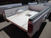 99-16 Ford F-250/F-350 Super Duty Truck Beds - 8ft Long Bed - Used 99-10 Ford F-250/F-350 Super Duty White 8ft Long Bed Truck Bed