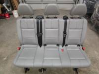 New and Used OEM Seats - Mercedes Benz Replacement Seats - 16-17-18-19 Mercedes Benz Metris Van Aftermarket Gray Leather 3-Pass Bench Seat