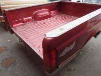 80-96 Ford F-150/F-250/F-350 Truck Beds - 6.5ft Short Bed - Used 87-96 Ford F-150/F-250/F-350 Dual Tank 6.5ftBurgundy Short Bed