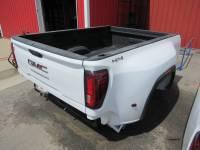 New 20-C GMC Sierra 3500 8ft White Dually Long Truck Bed - Image 30