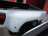 New 20-C GMC Sierra 3500 8ft White Dually Long Truck Bed - Image 32