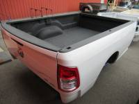 19-C Dodge Ram Truck Beds - 8ft Long Bed - New 19-C Dodge Ram 2500/3500 8ft White Truck Bed