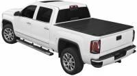 14-18 Chevy Silverado/GMC Sierra 5.8ft Short Bed Access Lomax Hard Tonneau Cover Textured Black