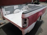 04-08 Ford F-150 Truck Beds - 8ft Long Bed - Used 04-08 Ford F-150 White/Red 8ft Long Truck Bed