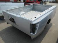 Used 08-10 Nissan Titan King Cab Silver 8ft Short Bed