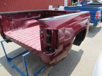 14-18 Chevy Silverado Burgundy 5.8ft Short Truck Bed