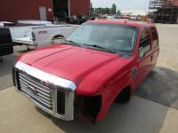 Truck Cabs & Cab Clips - Ford Truck Cabs and Cab Clips - Used 08-10 Ford F-250/F-350 Red Super Duty Crew Cab