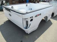 New 2021-C Ford F-150 White 8ft Long Truck Bed