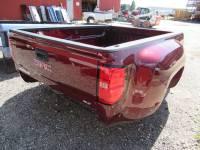 New 14-18 GMC Sierra/Chevy Silverado 8ft Burgundy Dually Long Truck Bed