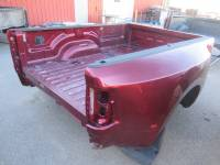 Used 10-18 Dodge RAM 3500 8ft Burgandy Dually Truck Bed