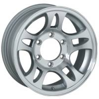 Trailer Tires & Wheels - 16 in. Trailer Wheels - 16 in. 6 Lug 10 Star Split Spoke T03 Aluminum Trailer Wheel