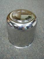 16 in. 8 Lug Trailer Wheel Stainless Steel Large Trailer Center Cap - Image 3