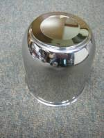 15 in. 16 in. 6 Lug Trailer Wheel Stainless Steel Medium Trailer Center Cap - Image 2